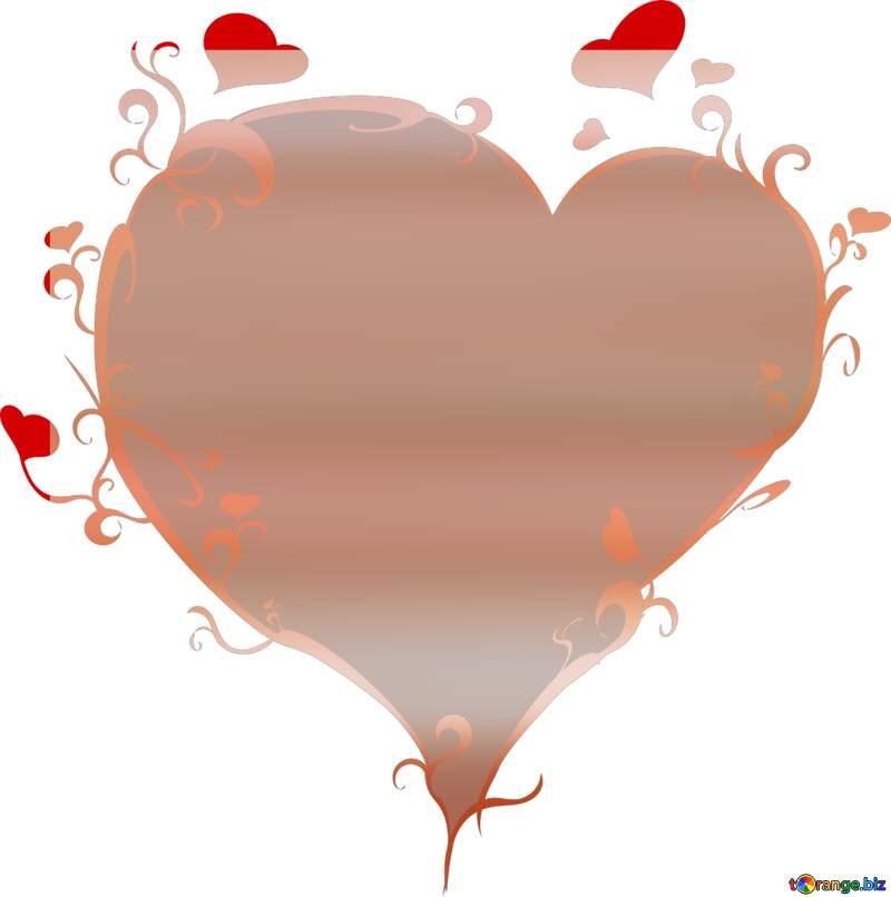 Christmas heart love  background №24617