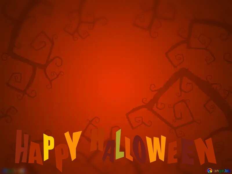 Halloween background happy halloween №40593