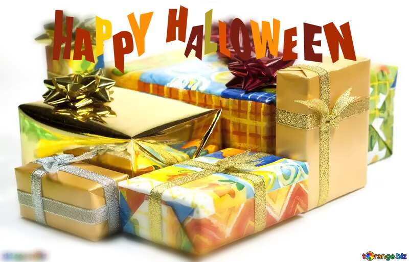 blurring happy halloween Boxes gifts №6728