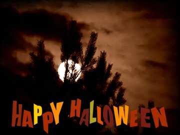 Die Wirkung von Licht. Die Wirkung von Sepia getönten. Die Wirkung der alten dunklem Rahmen. Happy halloween.