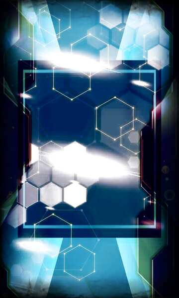 Die Wirkung der Spiegel. Die Wirkung von Licht. Die Wirkung der alten dunklem Rahmen. Bruchstück.