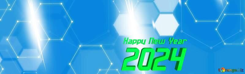 IT 2022 happy year banner background №54482