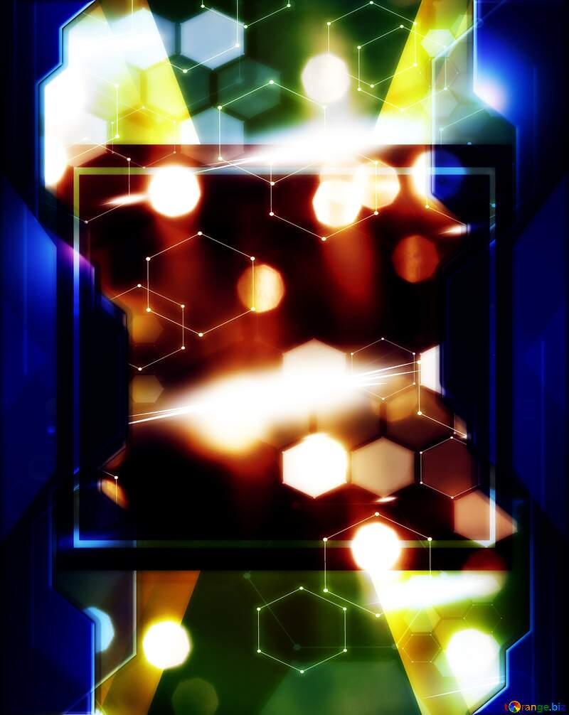 Bright background for Christmas Technology business concept design №24606