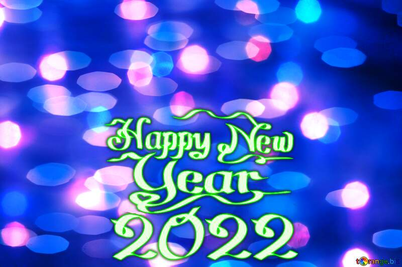 Bright background for Christmas happy new year 2021 blue №24606