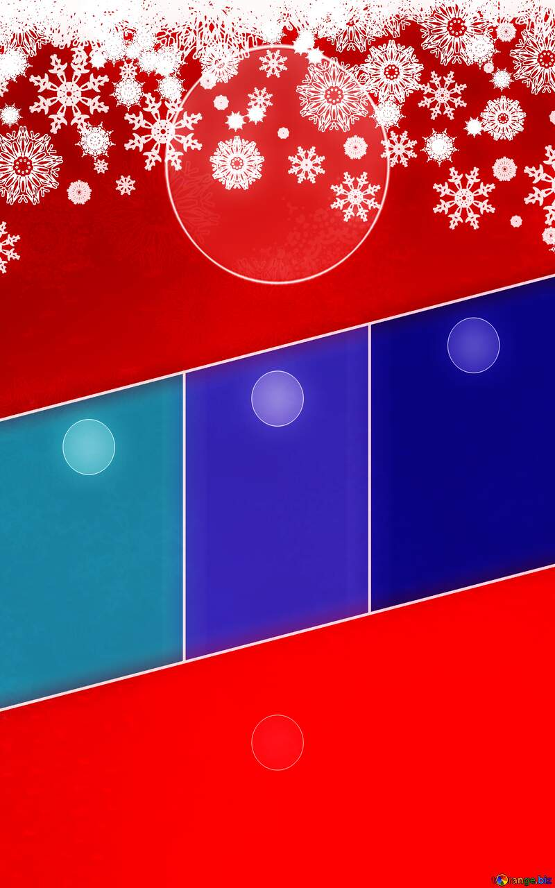 Red Christmas background Business brochure flyer design layout template blue №40659
