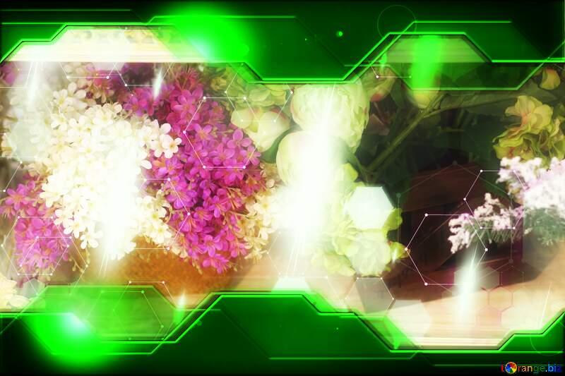 Flower trade Hi-tech Concept №46971