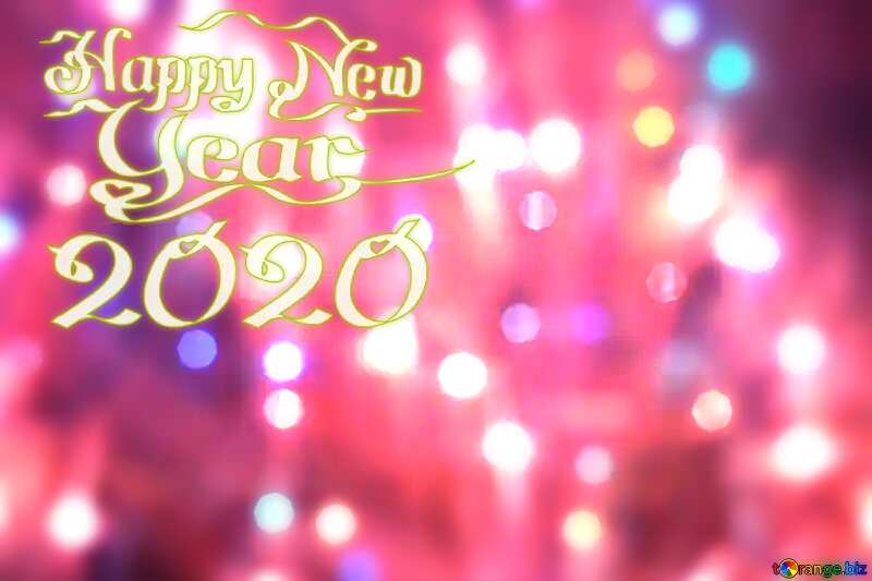 Bright background for Christmas happy new year 2020 №24606