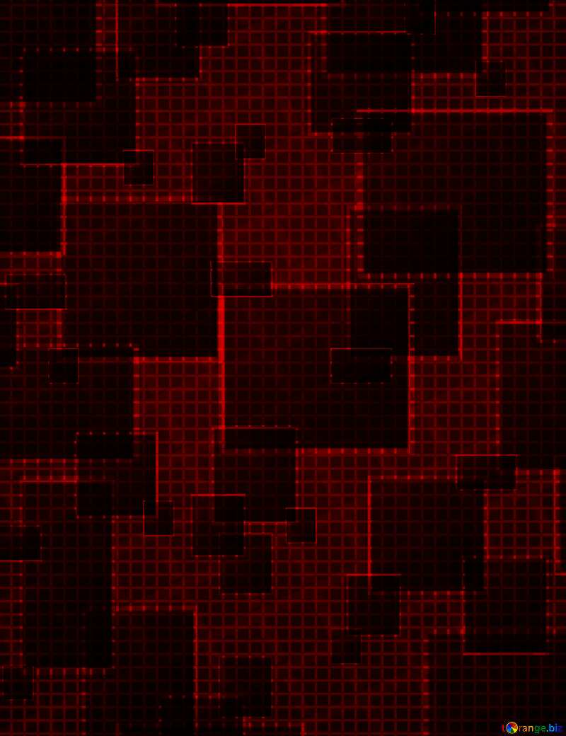 Technology red dark  background №49678