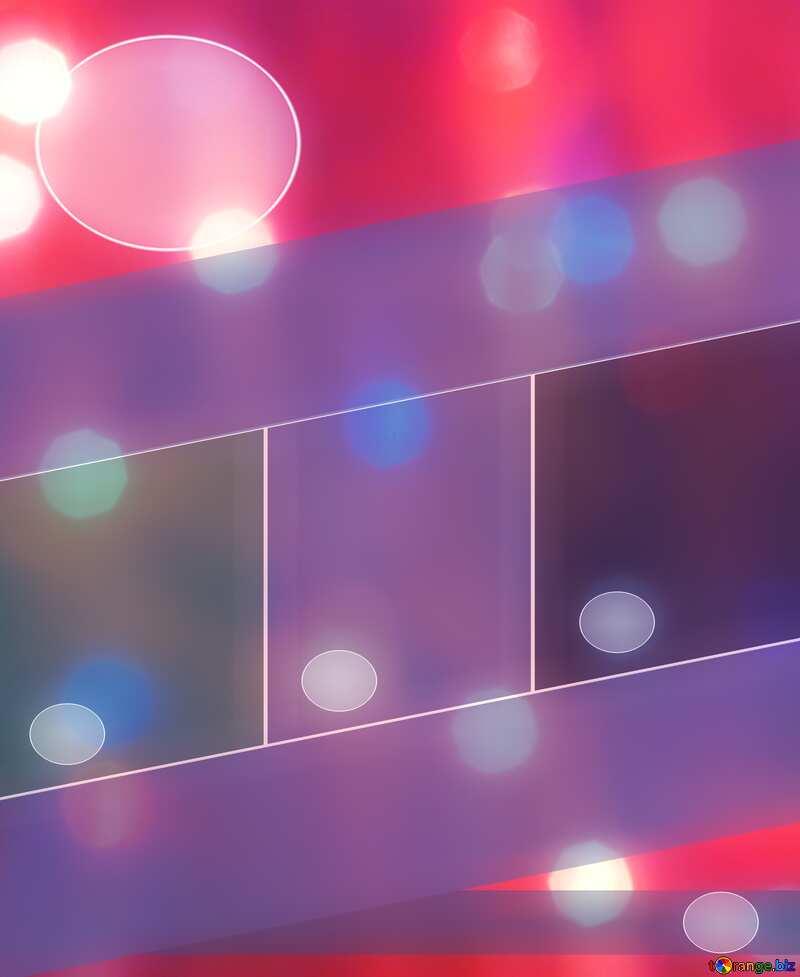 Bright background for Christmas Business brochure flyer design №24606