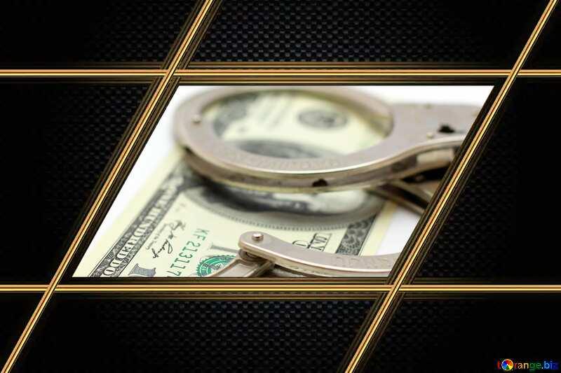 Corruption gold lines frame №19888