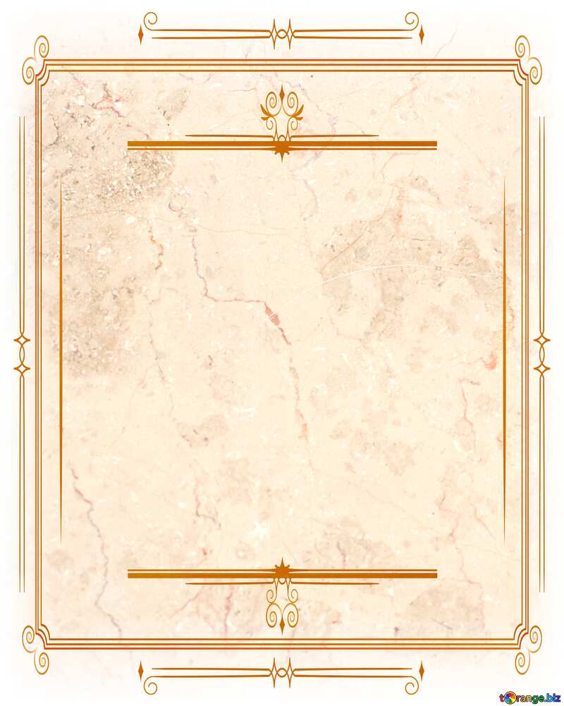 Light marble texture Vintage frame retro clipart №26997