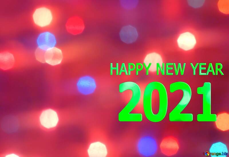 Bright background for Christmas happy new year 2020 red dark №24606