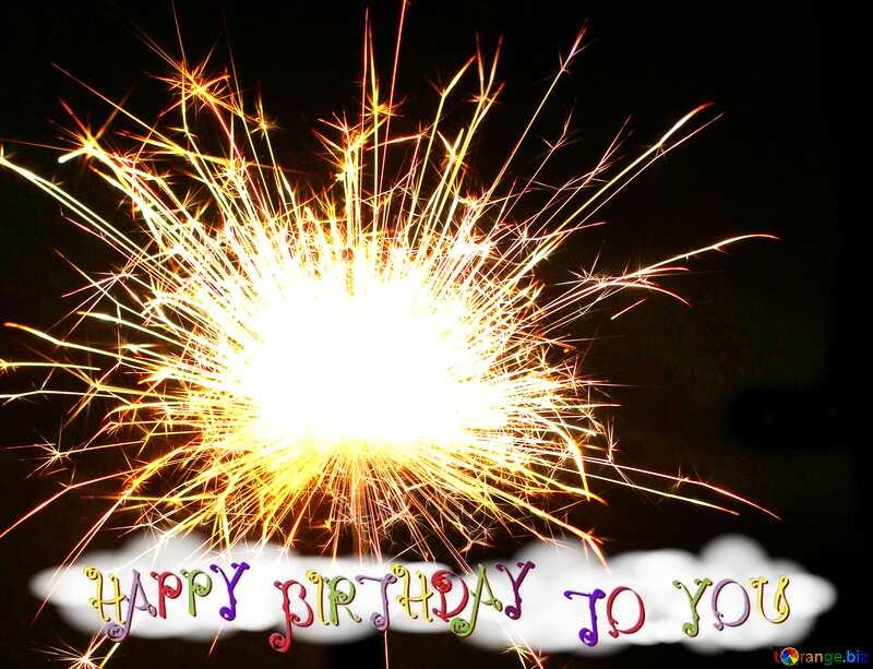 Bright sparks birthday card №25682