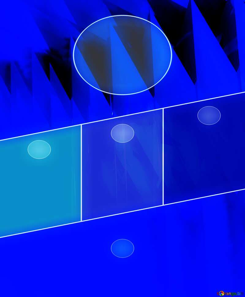 Blue abstract futuristic background. design layout template №51524