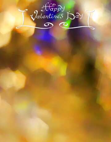 The effect of light. Vivid Colors. Fragment. Happy Valentine's Day.