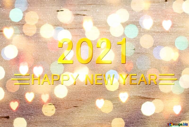 Snow Happy New Year 2021 Background №4247