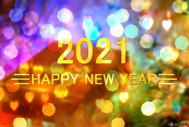 Happy New Year 2021 Background №6507