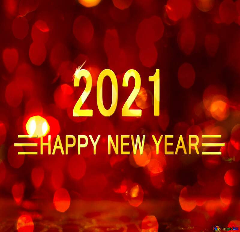 Christmas happy new year 2021 background №15081