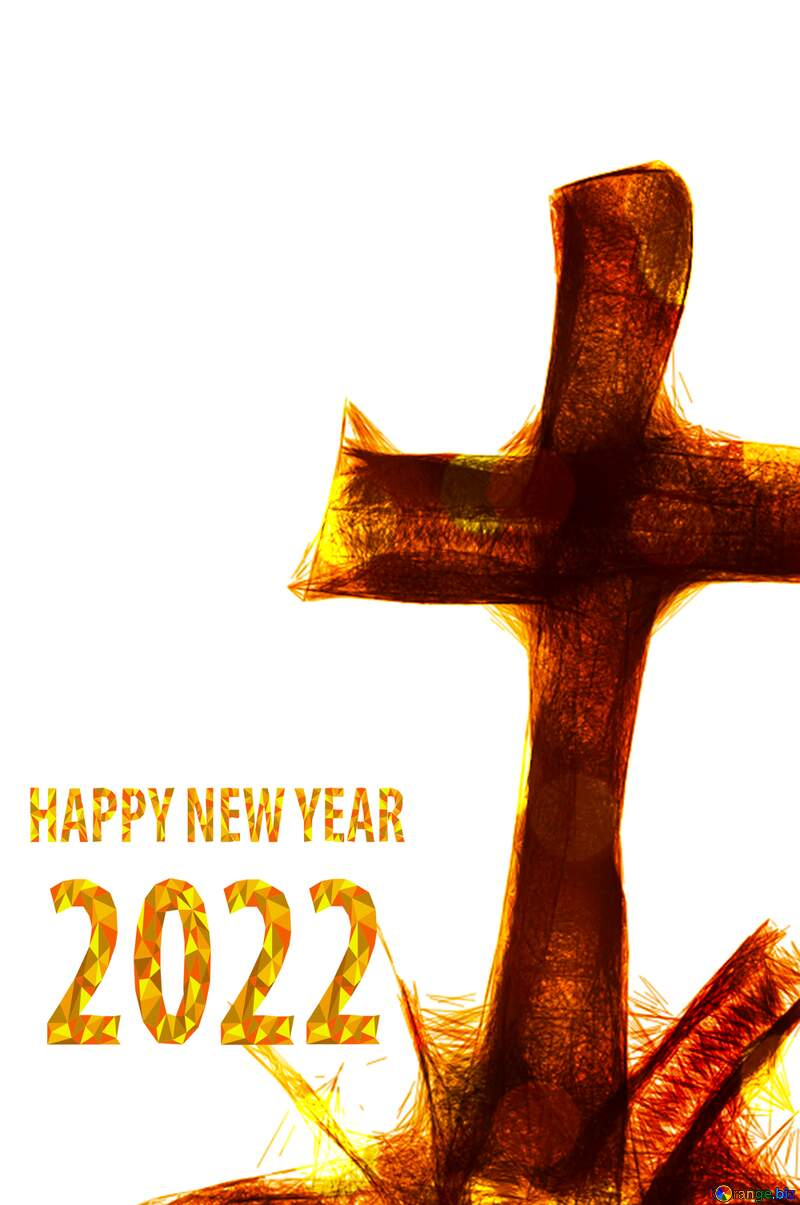 Clipart for Halloween grave cross happy new year 2021 №40485
