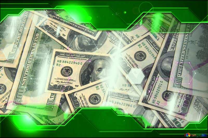 Dollars rich  Green Hi-tech Technology №1507