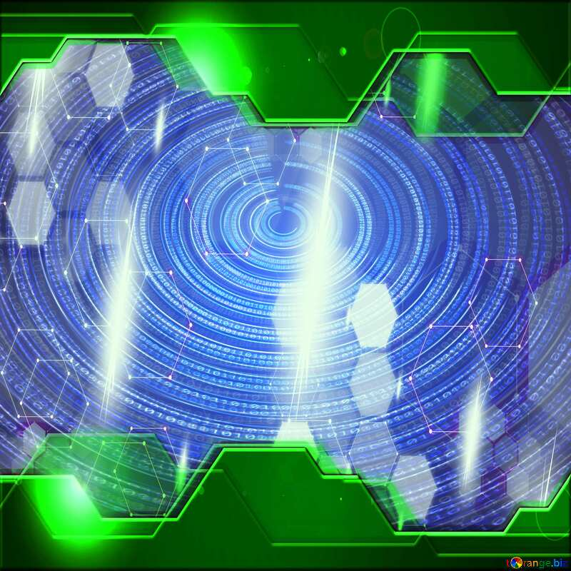 Futuristic Hi-tech background №49672