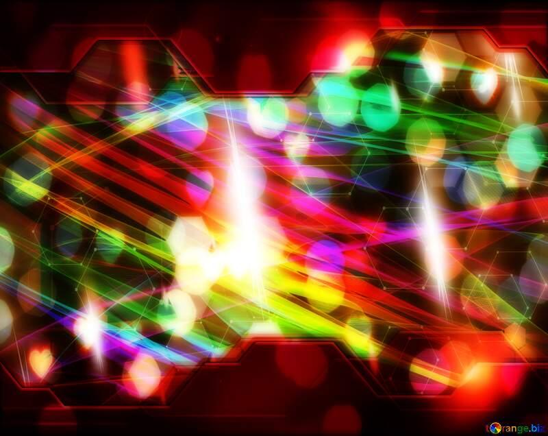 Background Red  fractal  design art Information Technology business concept Hi-tech elements №40614