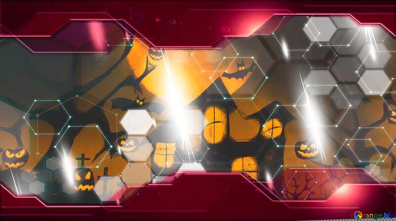 Halloween Hi-tech wallpaper for desktop business concept №40470