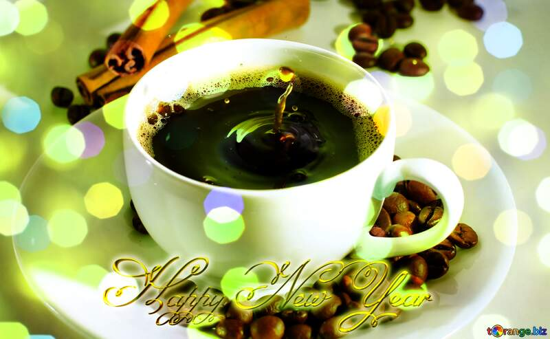 Cup of coffee Happy New Year №30851