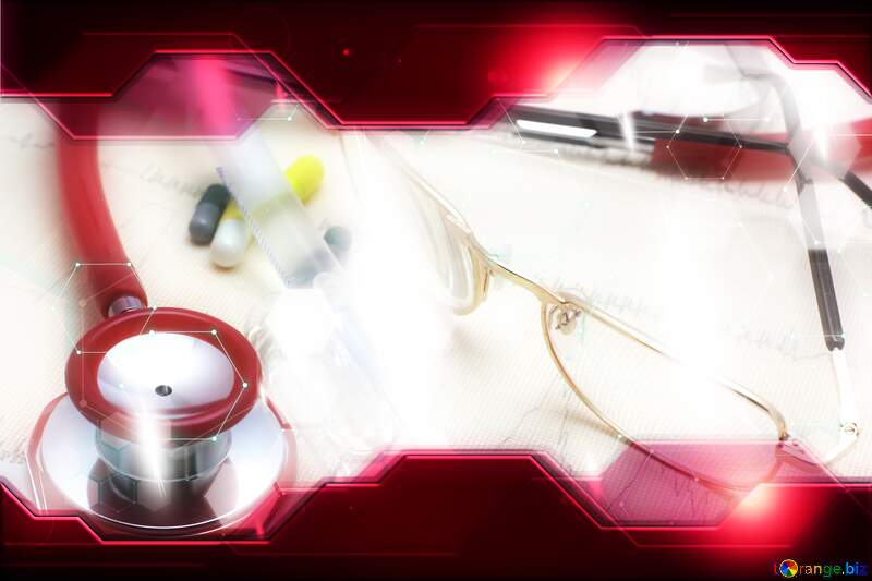 Medical blurred  Technology business concept Hi-tech background №19850