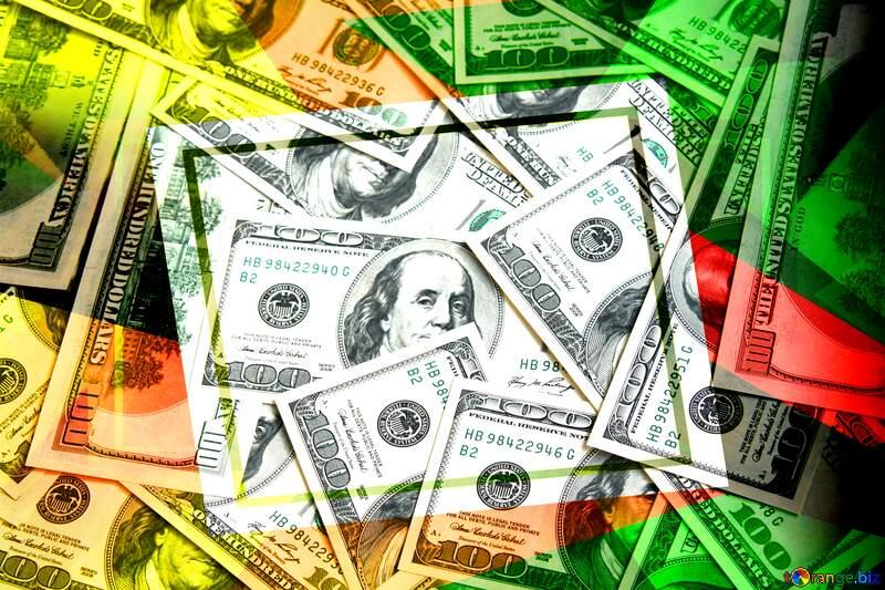 Dollars rich  creative future trend frame creative №1507
