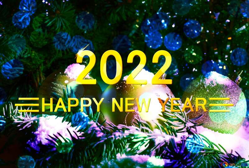 happy new year 2021 Christmas card №15370