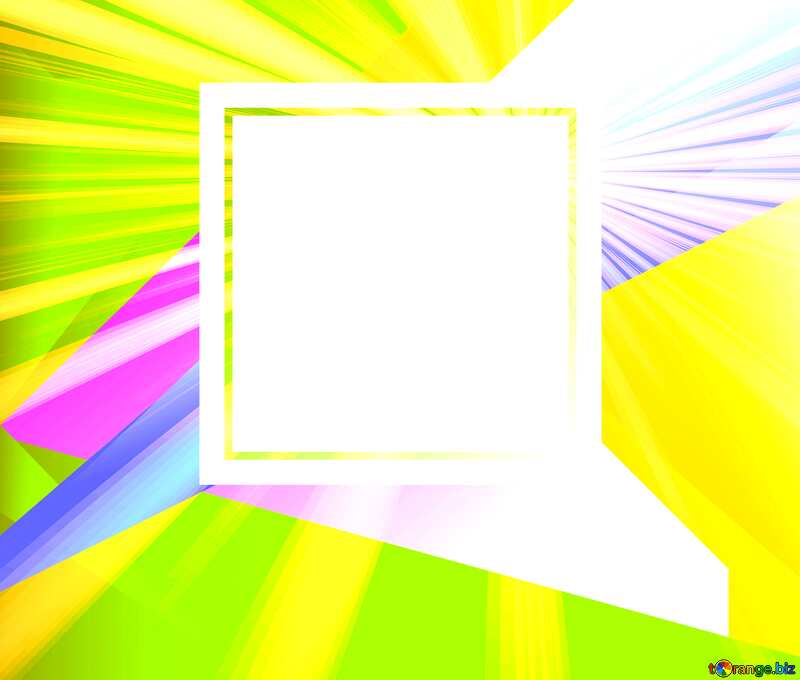 Abstract  template frame №49675