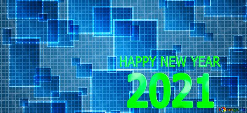happy new year 2021 techno computer pattern №49678