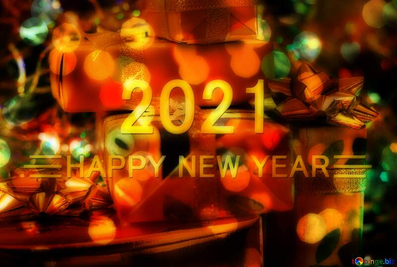Heap Gifts Happy New Year 2021 №6496