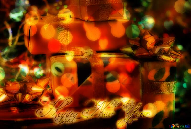 Heap Gifts Happy New Year №6496