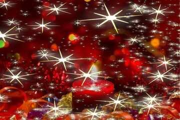 Beautiful  new year Christmas background stars bokeh pattern