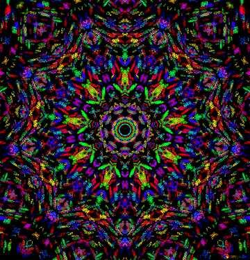 Die Wirkung von Licht. Sehr klare Farben.
