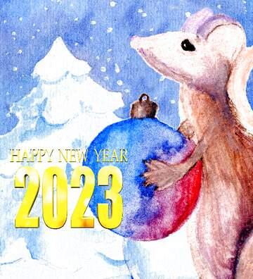 Эффект светлый. Очень яркие цвета. Happy New Year 2020.