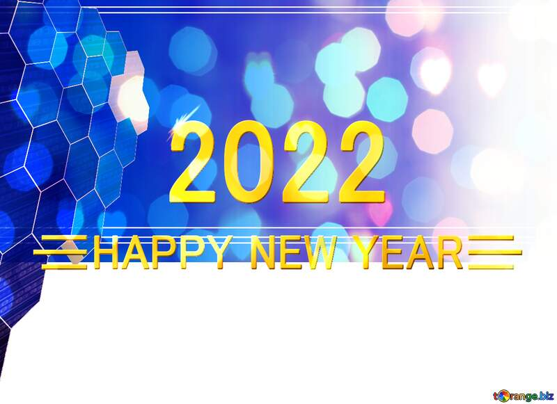 it business information technology concept background Shiny happy new year 2022 №49674