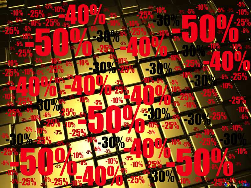 3d abstract gold metal cube background Sale Discount №54498