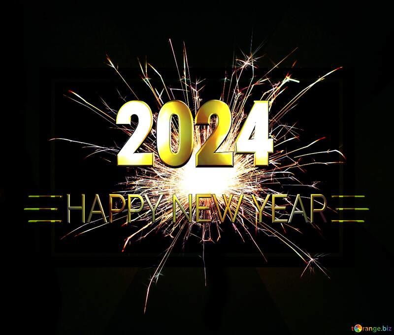 Bright sparks Shiny happy new year 2022 background №25682