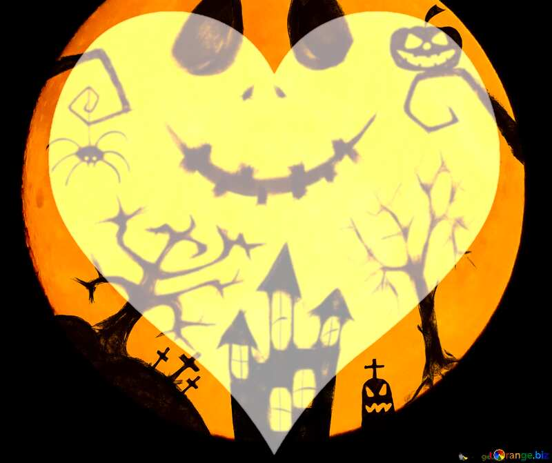 Halloween picture love background №40468