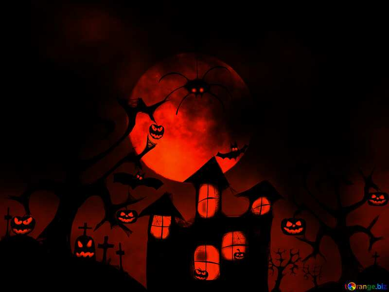 Halloween wallpaper for desktop dark №40470