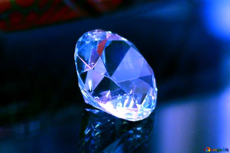 diamond blue background №52795