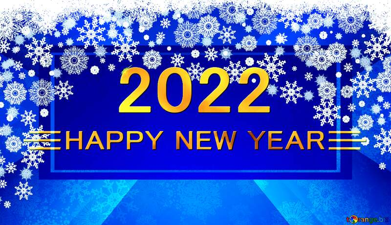 Blue Christmas background happy new year 2021 №40658