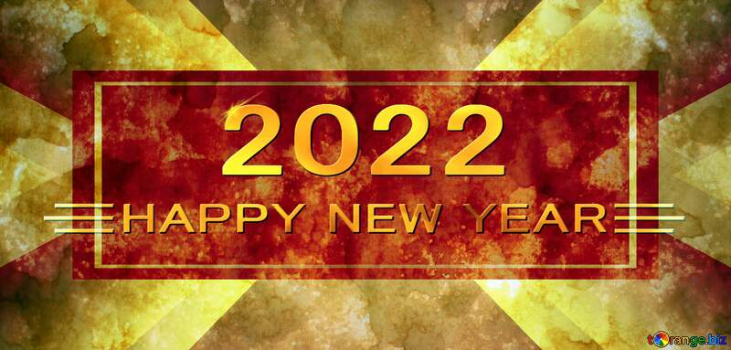Old paper texture happy new year 2021 background gold №29142