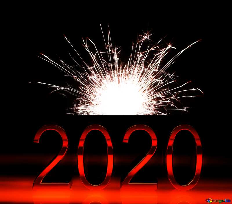 Bright sparks 2020 red №25682