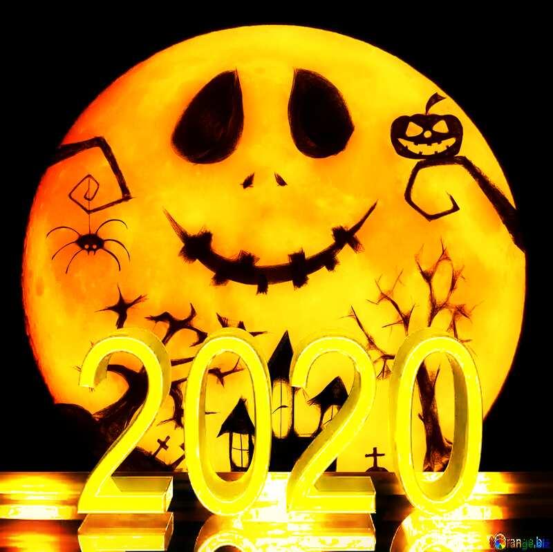 Halloween moon 2020 №40468