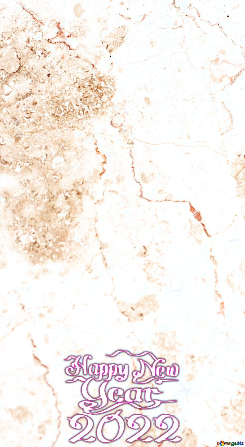 Light marble texture happy new year 2022 background №26997