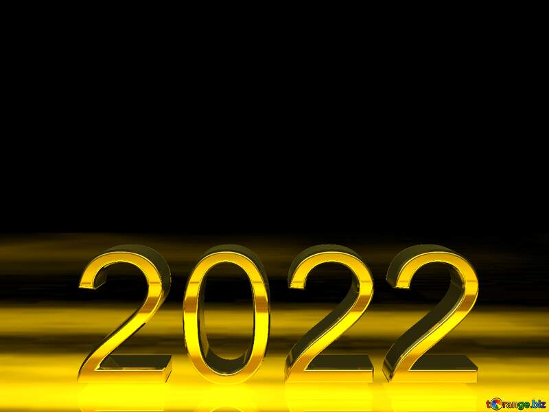2021 3d render gold digits with reflections opacity dark background isolated №54491